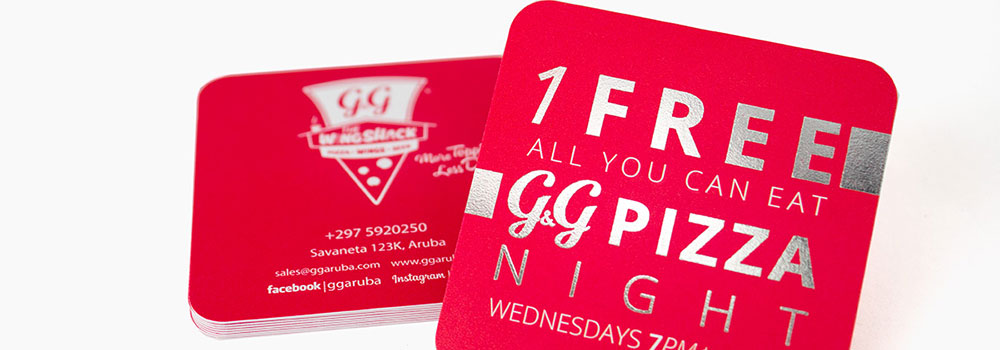 Business cards continue to be a strong marketing tool and can make a powerful statement. We offer an extensive selection right for you and your personality including silk laminated business cards, foil business cards and plastic business cards.