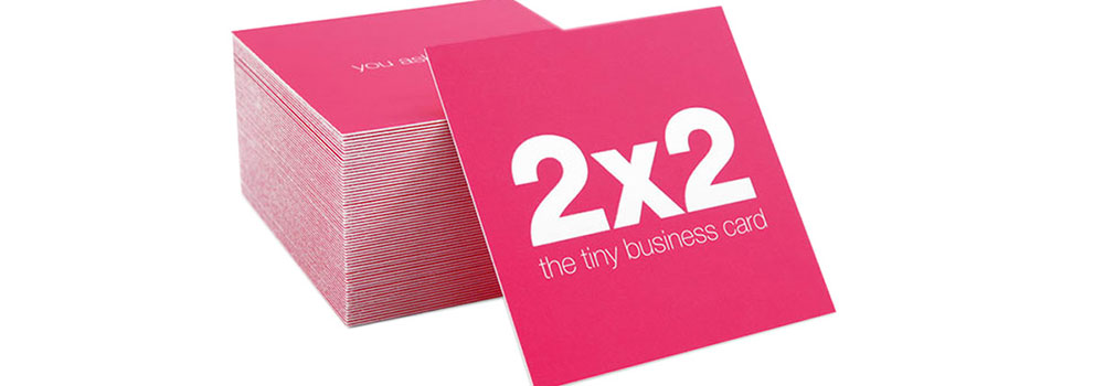Square Business Cards Printed by Primo Print