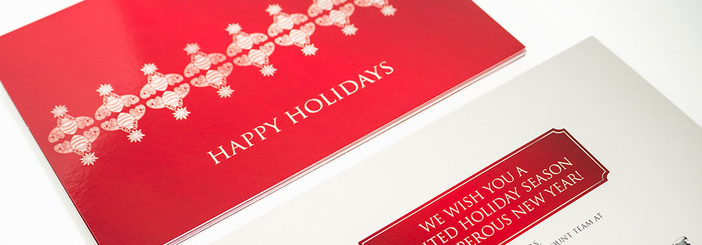 Holiday Postcard Printed by Primo Print