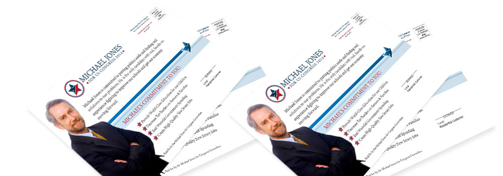 Political EDDM Postcards Printed by Primo Print