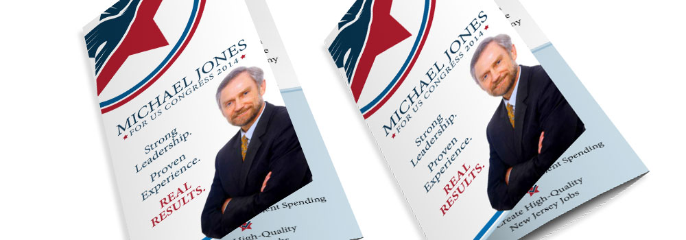 Political Brochures Printed by Primo Print